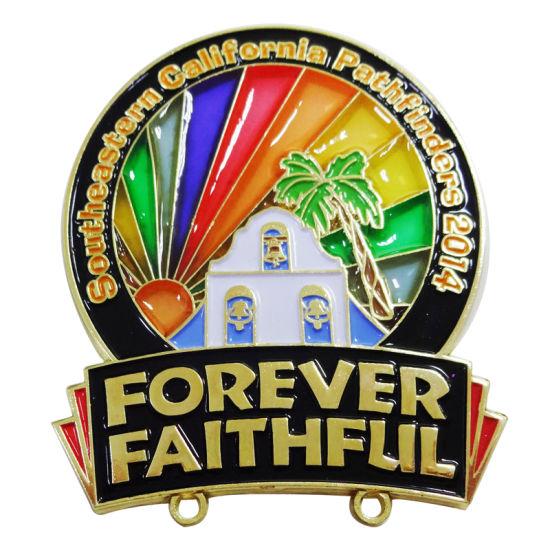 Sales High Quality Fine Souvenir Enamel Pin Badge a Minit Template