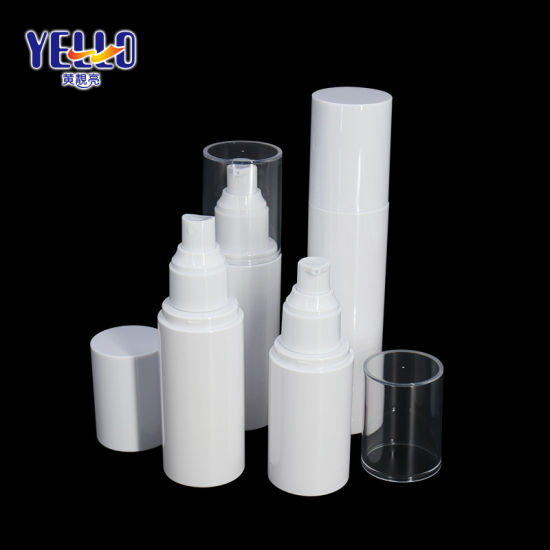Cosmetic Packaging Plastic Pet 50ml 100ml 120ml 150ml White Empty Lotion Toner Spray Bottles