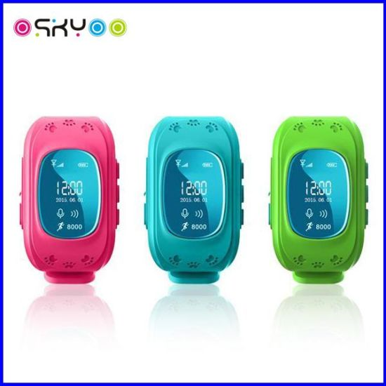 Kids GPS Tracker Bracelet Bluetooth Smart Watch pictures & photos
