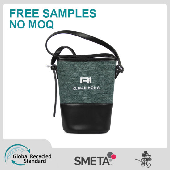 Contrast Color Bucket Bag Cross-Body Bag Designer Bag Handbag