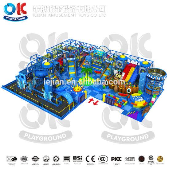 Commercial Indoor Playground Children Equipment Amusement Park