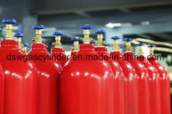 68L Filling in 45kg CO2 Cylinder Used for Fire System