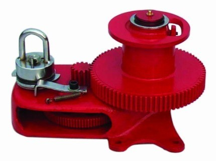 3500lbs Ceiling Winch, Red, Winches / Poultry Farm Equipment (H3500 red)
