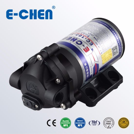 Electric Water Pump 100gpd 1.1 L/M Home RO Premium Quality Ec103 pictures & photos