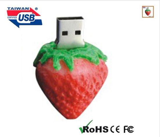 Strawberry Flash Drive