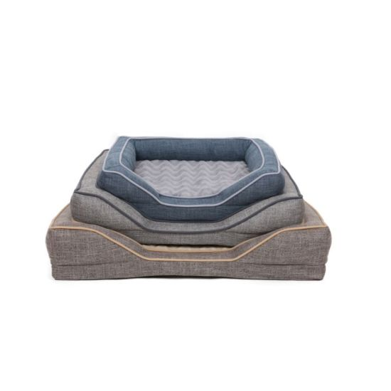 Breathable Superior Quality Durable Fabric Fluffy Pet Bed Yf95121