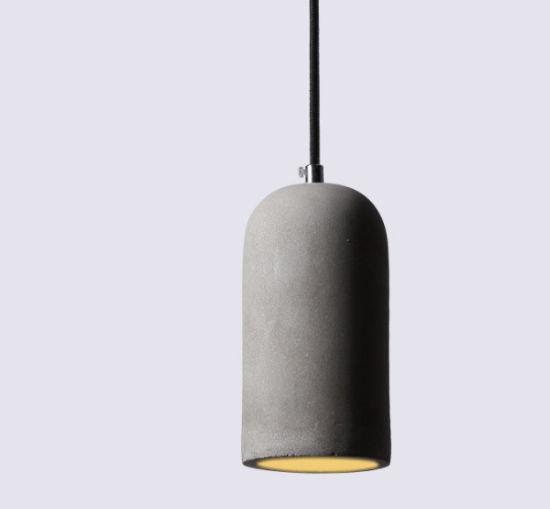 Nordic Wholesale Amazon Hot Sale Retro Style Concrete Hanging Pendant Lights