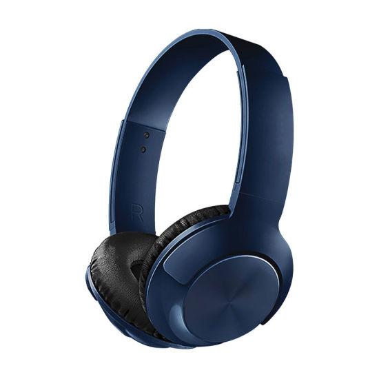 Cheap Hands-Free Sports Stereo Wireless Earphones Bluetooth Headset Headband Headphone with Mic