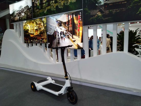 Electric Scooter, Running at Home, Health Training at Home