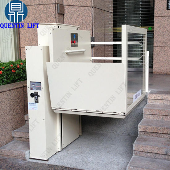 China Wheelchair Lift Hydraulic Lifts for Disabled Person ...