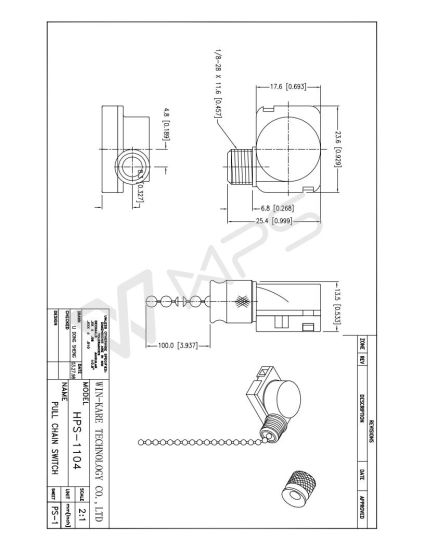 China Ul Certificate Ceiling Switch