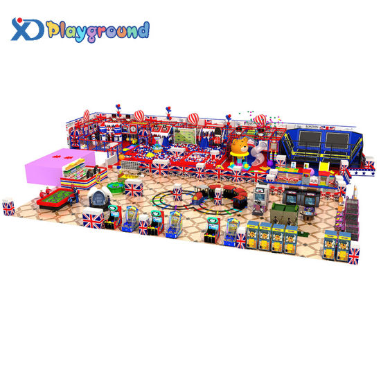 Custom Design Commercial Kids Indoor Playground with Plastic Ball