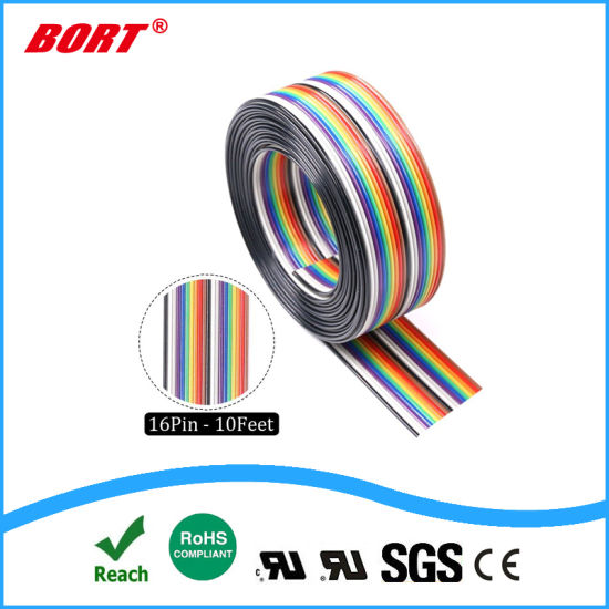 UL2468 Flat Wire Cable PVC Insulation for Audio/Video