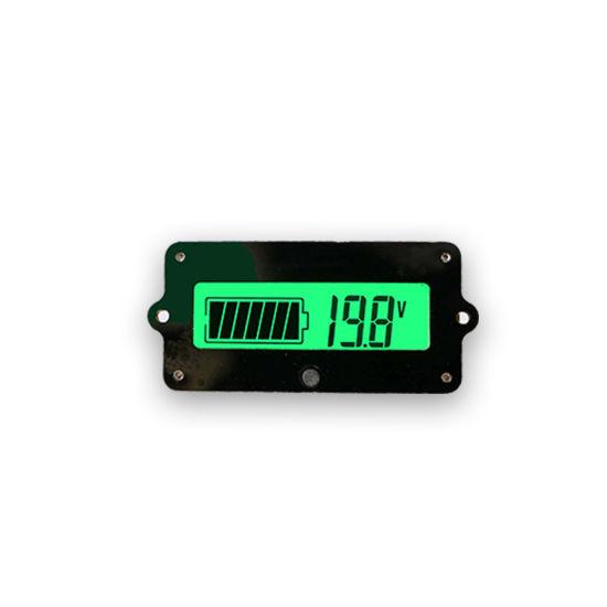 LCD Display Acid Lead Lithium Battery Capacity Indicator Voltage Meter Tester