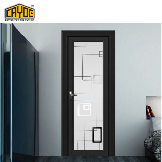Foshan Hot Sale Cayoe Aluminum Bathroom Toilet Door Room Casement