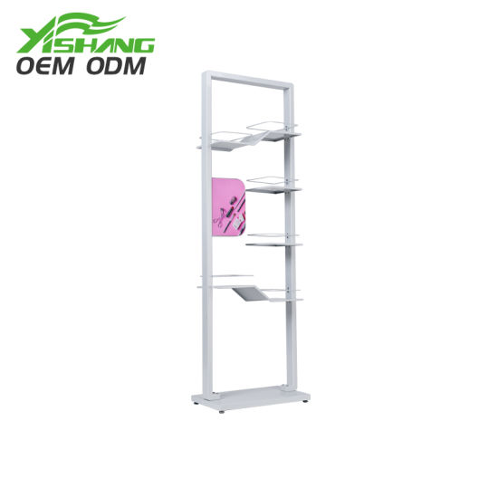 Professional Design Cosmetic Metal Retail Display Stand