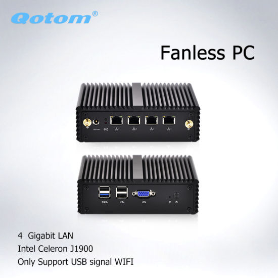 China Barebone 4 LAN J1900 Router Apply to Router, Firewall
