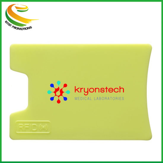 Wholesales Promotional Item ABS material RFID Blocking Credit Card Sleeve