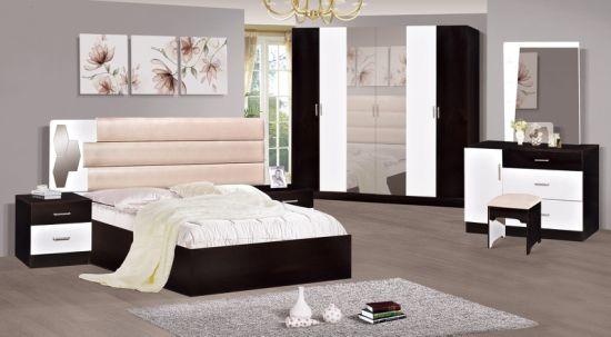 2018 Modern New Design Bedroom Sets Wardrobe Dressing Table