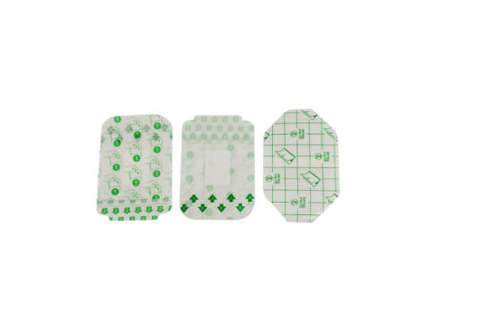White Fabric Medical Wound Adhesive Plaster Custom Printed Band Aid