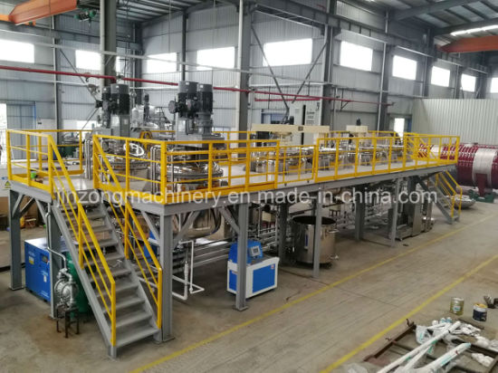 Emulsion Wall Color Paste Paint Production Line Plant Mixer