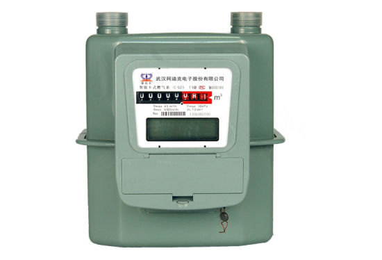 Steel Case Residential Diaphragm Gas Meter G4 pictures & photos