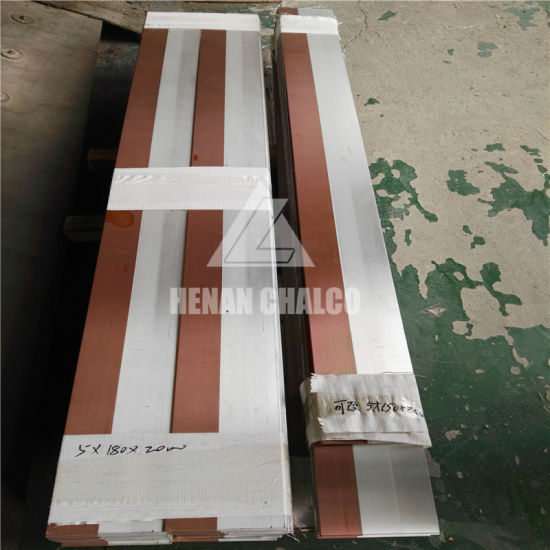 Copper Clad Aluminum Plate Sheet Transition Joints pictures & photos