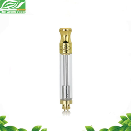 High Copied Hot Product Brass Knuckles Thc Oil Cbd Cartridge with 0.5ml Golden Color pictures & photos