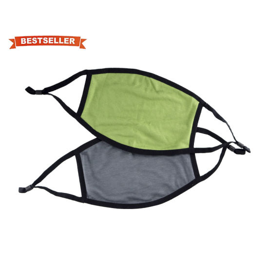 Hot Selling Comfortable Activated Carbon Workout Protective Bamboo Fiber Face Mask for Sport Training