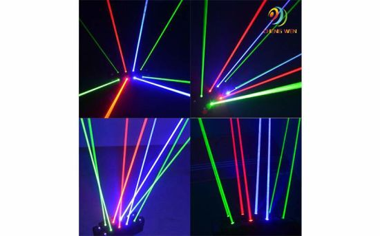 International Standard Color Event 9PCS Rotation Spider Laser Light pictures & photos