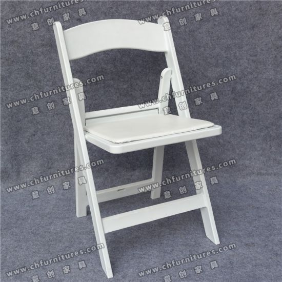 Wimbledon White Folding Chairs Furniture for The Garden Yc-P20 pictures & photos