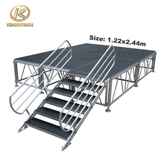 Hot Sale China Aluminum Portable Stage Outdoor Indoor Concert Stage for Events
