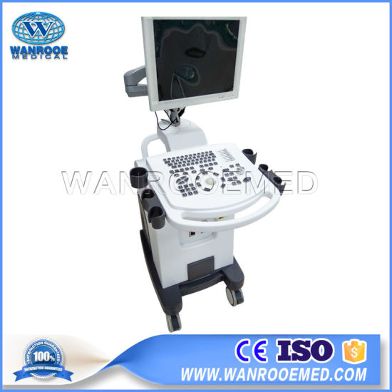 Us350 Medical Equipment 4D Imaging System Full-Digital Trolley Ultrasound Scanner pictures & photos