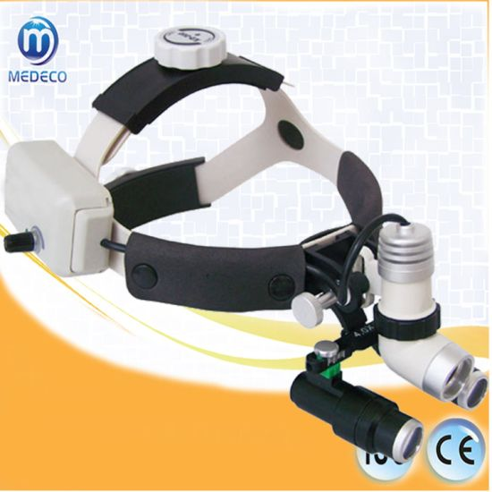 LED Medical Dental, Ent Gynecology Surgical Headlight Kd-202A-7 with Loupes pictures & photos