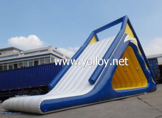 China Water Floating Inflatable Slide for Lakes and Sea