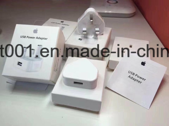 Wholesale Price UK Travel Charger for iPhone6/7 Mobile Phone Wall USB Adapter Charger