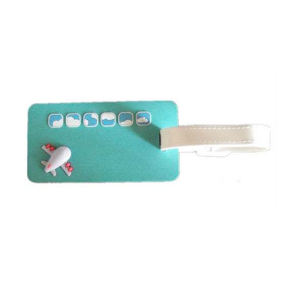 Promotion High Quality PVC Luggage Tag Customed Logo (YB-HR-40) pictures & photos
