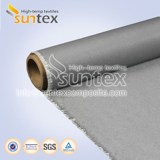 Blankets Fiberglass Welding Cloth PU Coated 0.72mm M0 Thermal Insulation Fiberglass Fabric pictures & photos