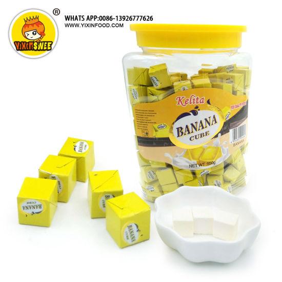 550g Kelita Banana Cube Candy