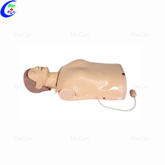 Medical Science Subject Half Body CPR Training Manikin Light Indication pictures & photos
