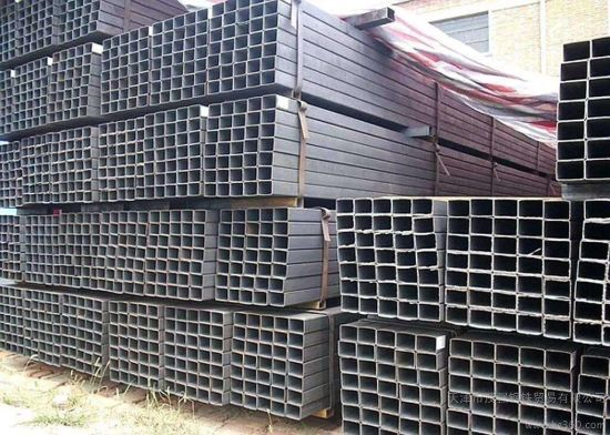 Black Square and Rectangular Weight of Steel Tube