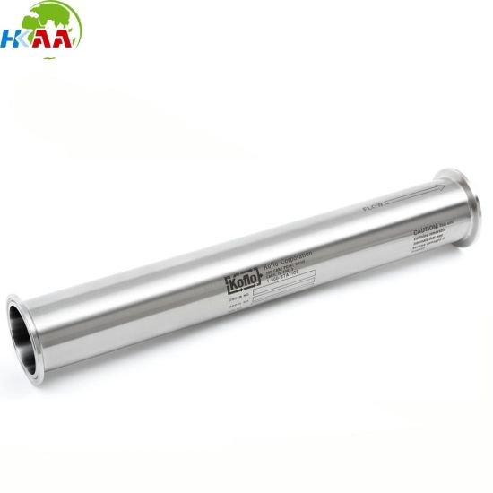 Customized Aluminum Machined Inline Static Mixer Tube Price pictures & photos