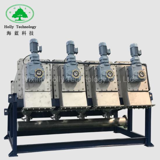Belt Filter Press Dewatering Machine for Wastewater Treatment