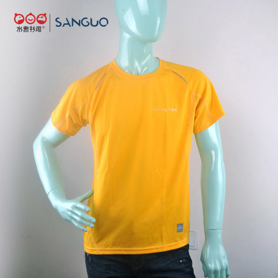 Sport Dry Fit T-Shirt High Quality Men Comany Promotion