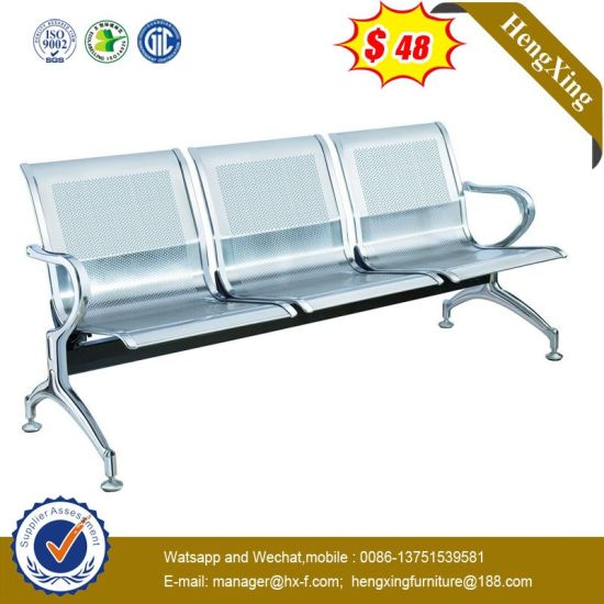 Hot Sells Office Furniture ISO Hospital Use PU Mattress Waiting Chair