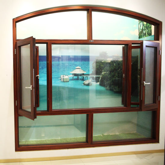 Top Sales High Quality out Modern Aluminium Profile Frame Double Glazing Sliding Window