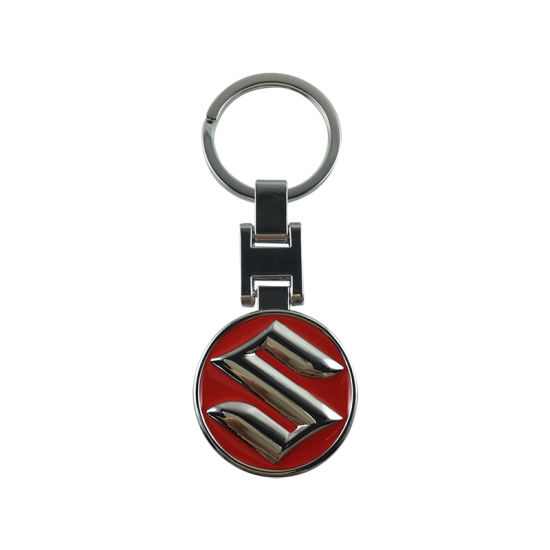 Wholesale Personalized Zinc Alloy Metal Key Ring with Car Logo pictures & photos