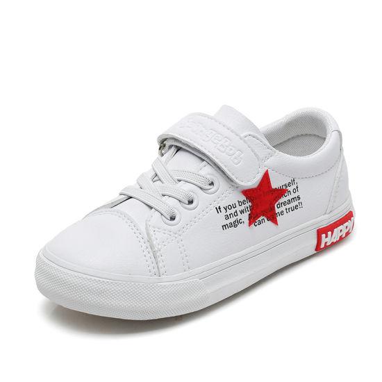 2019 Autumn Children PU Leather Trainer Baby Boy Fashion Sport Sneaker Girl Brand Casual Shoe 7030