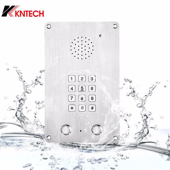 Kntech Flush Mounting Waterproof Intercom Dust Proof Clean Room Phone pictures & photos