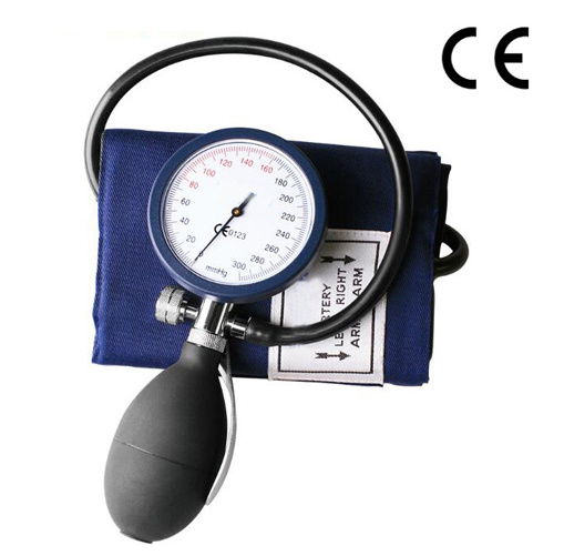 Ce Approved Palm Type Manual Aneroid Sphygmomanometer